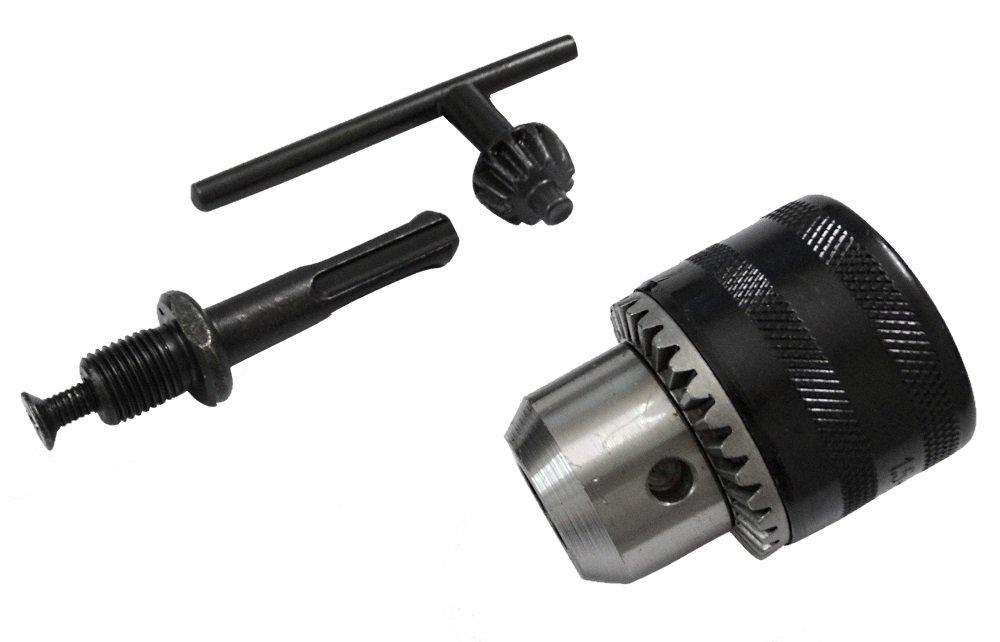 AERZETIX: Mandril 13mm adaptador SDS para taladros 1.5-13mm con llave 3800946192336
