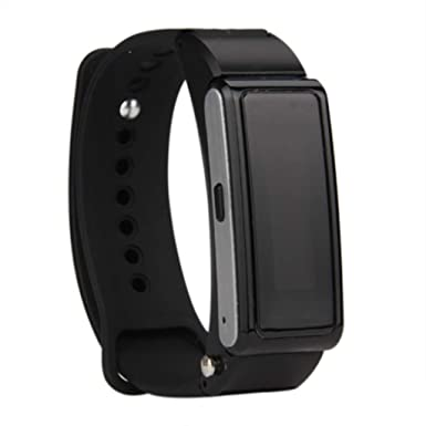 Amazon.com: Smart Watch Bluetooth Headset Talk Band Music ...