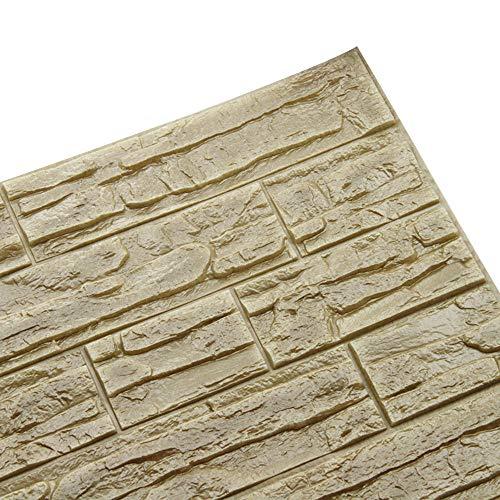 SFE DIY 3D Brick PE Foam Wallpaper Panels Room Decal Stone Decoration Embossed