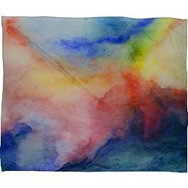 Deny Designs Jacqueline Maldonado Torrent 1 Fleece Throw Blanket, 50 x 60