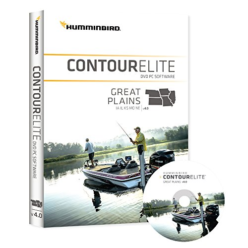 Humminbird Lakemaster 600018-3 Contour Elite- Great Plains Boating Chartplotters Jan 16