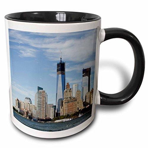 3dRose mug 190317 4 Manhattan Skyline Including