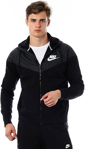 Nike Windrunner Veste Polaire pour Homme XXL Noir Noir
