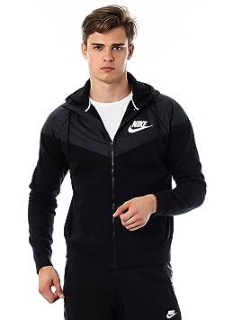 81ca76581116 Nike Windrunner Veste polaire pour homme L Noir - Noir  Amazon.fr ...