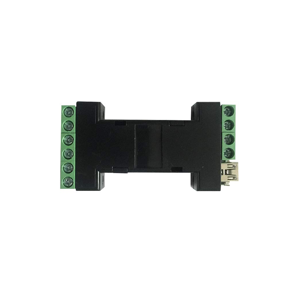 Wiegand Converter Wiegand to USB Wiegand to Serial RS232/PS2/ABA/TTL, Serial to Wiegand Converter, Up to 128 Bits Wiegand Data, Android/Linux/Widows/iOS(Host with Serial)