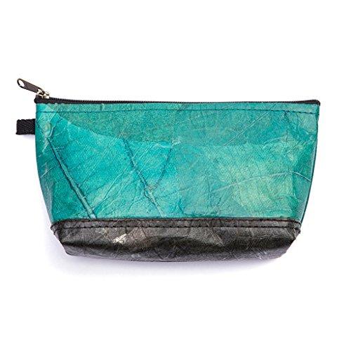 Leaf Leather Stash Bag...