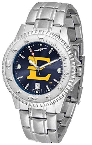 East Watch Tennessee State - Linkswalker Mens East Tennessee State Buccaneers Steel Anochrome Watch