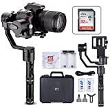 Zhiyun Crane V2 3 Axis Brushless Handheld Gimbal Stabilizer 3 32Bit MCUs Brushless Motors With Encoders for Mirrorless Camera Sony A7,Panasonic LUMIX,Nikon J Series Canon M Series