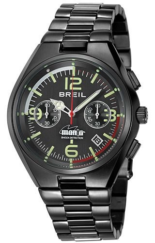 Breil TW1357 Black Steel Man Watch