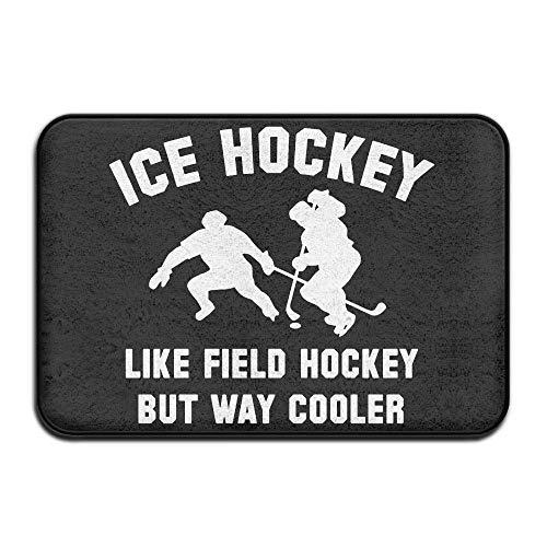 Friedman Ice Hockey Way Cooler Doormat Door Mats Mats Bathroom Rugs for Indoor Outerdoor Bathroom
