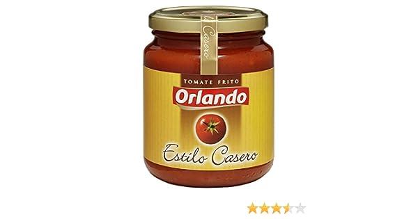 Orlando - Tomate Frito Estilo Casero Cristal 295 g: Amazon.es: Alimentación y bebidas