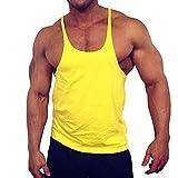 Muscle Alive Blank Bodybuilding Stringer Tank Tops