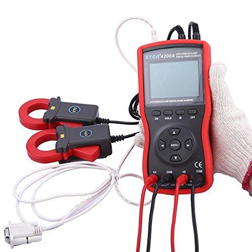 Digital meter- Intelligent Double Clamp Digital Phase Volt-Ampere Meter ETCR4200A, Amp Ohm Volt Meter: Amazon.co.uk: DIY & Tools