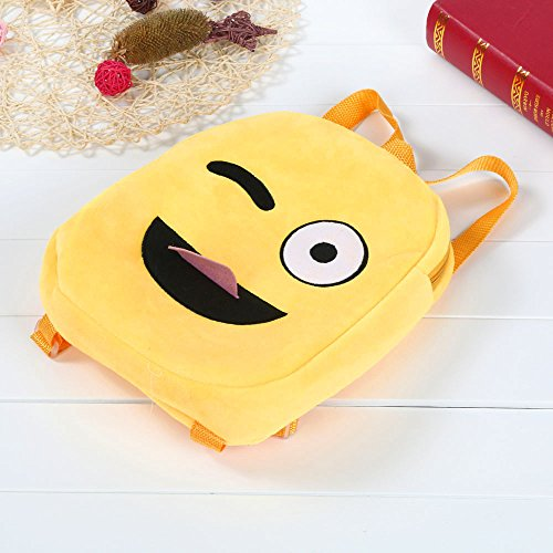 Handbag Rucksack Yellow Emoji Emoticon Child Bag Backpack Satchel G JESPER School Shoulder Cute fzPfxRv