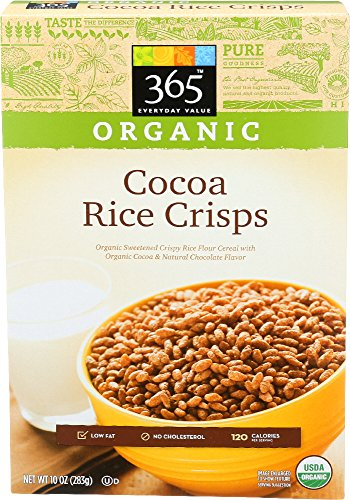 365 Everyday Value, Organic Cocoa Crisps Cereal, 10 Ounce 51rPGXK4BWL