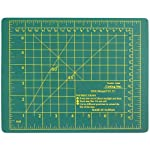 "SE CMG0975 9"" x 7.5"" Self-Healing Double-Sided Cutting Mat"
