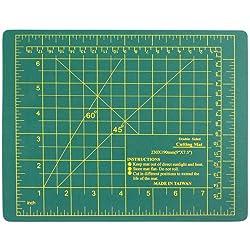 "SE CMG0975 9"" x 7.5"" Self-Healing Double-Sided Cutting Mat"