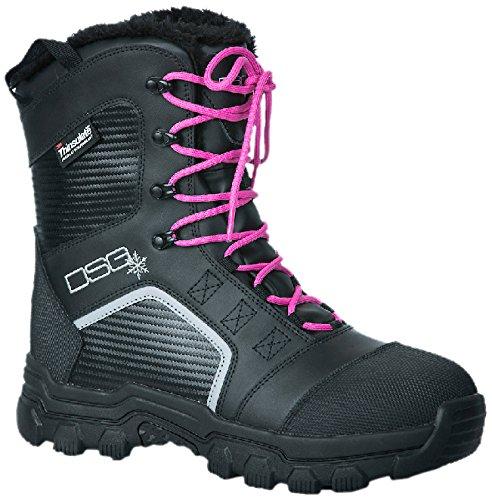 DSG Outerwear Women's Rime Boots, Black, Size 11 by DSG Outerwear