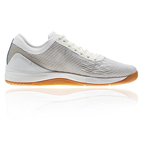 Reebok Crossfit Nano 8.0, Zapatillas de Deporte Para Mujer Blanco (White/Classic White/Excellent Red/Blue/G 000)