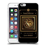 Official HBO Game Of Thrones Targaryen Border Golden Sigils Soft Gel Case for Apple iPhone 6 Plus / 6s Plus