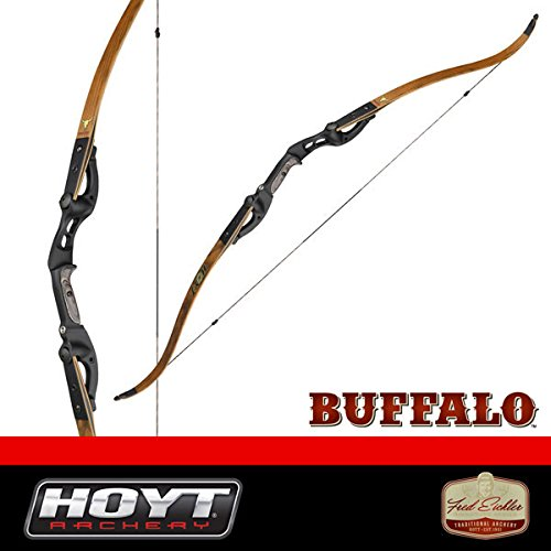 Hoyt Buffalo 62 Takedown Recurve Bow Right Hand 35 lb Maple Limbs