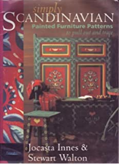 Simply Scandinavian: Painted Furniture Patterns to Pull Out and Trace