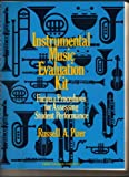 Instrumental Music Evaluation Kit, Russell A. Pizer, 0134681177