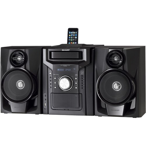 Sharp 240 Watts Mini Hi Fi Audio Stereo Sound System With