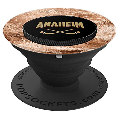 (Anaheim Hockey - Sports Fans - PopSockets Grip and Stand for Phones and Tablets)