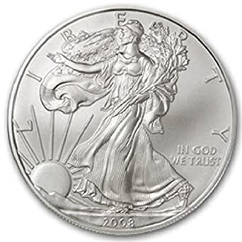 2008 1 Ounce American Silver Eagle Low Flat Rate