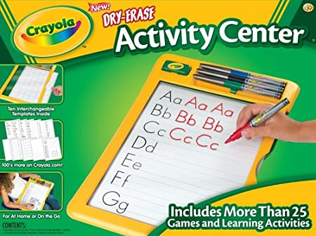 Amazon.com: Crayola Dry Erase Activity Center: Toys & Games