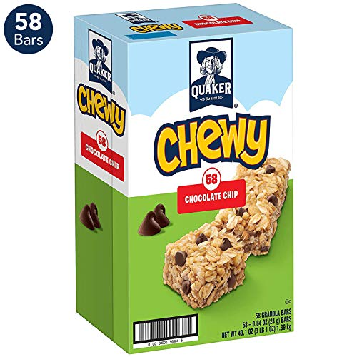 Quaker Chewy Granola Bars, Chocolate Chip (58 -