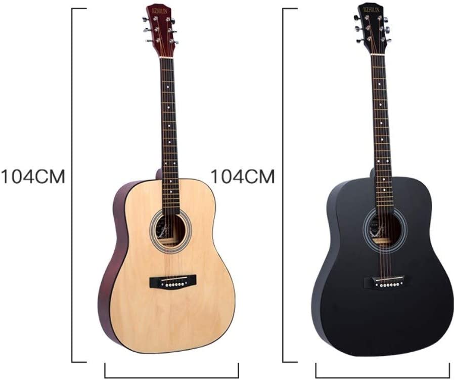 Miiliedy Vintage 41 pulgadas guitarra for principiantes masculino ...