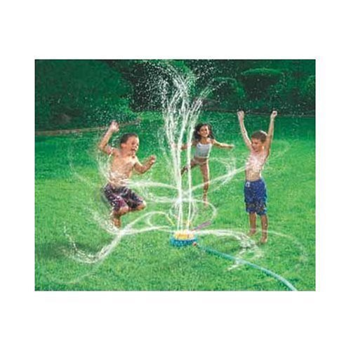 Blast Sprinkler to Keep Kids Cool on a Hot Day