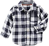 OshKosh B'Gosh Baby Boys' Tops 11919510, Plaid, 18 Months