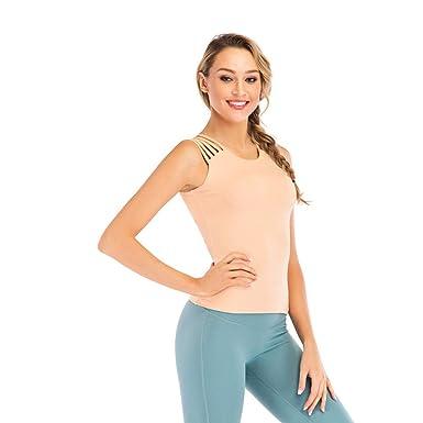 Yoga para Mujer Camisetas Sin Mangas Camiseta Deportiva Ropa ...