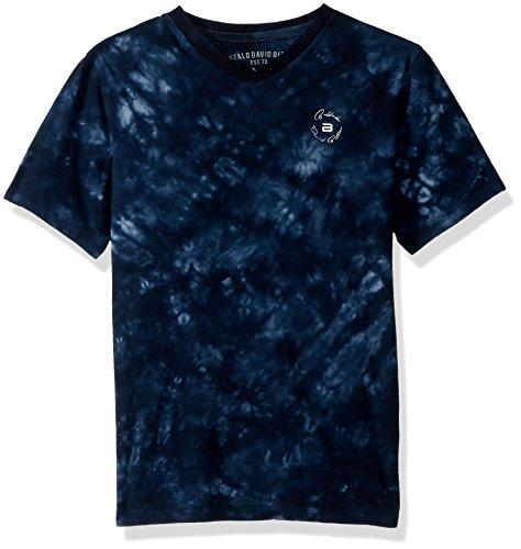 Buffalo by David Bitton Boys' Big Kellex Short Sleeve Tee Shirt, Whale X-Large (18/20)