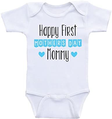 Happy 1st Mothers Day Mama Toddler//Kids Short Sleeve T-Shirt Kids Handwriting