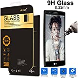 LG G4 Screen Protector,by Ailun,Tempered Glass,9H Hardness,2.5D Curved Edge,Ultra Clear,Anti-Scratch,Bubble Free,Reduce Fingerprint&Oil Stains Coating,Case Friendly-Siania Retail Package