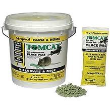 Rodenticide, Green Pellets, 4 lb. Pail