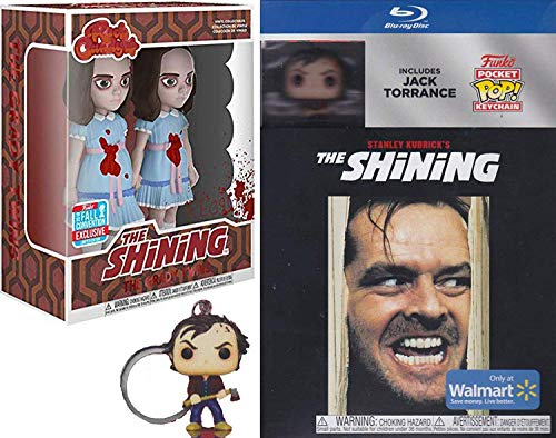 Funko Twin Jack Torrance from The Shining Pop Figure Bundled with Stanley Kubrick Horror Feature Movie Rock Candy Duo Grady Twins Figure Stephen King Pocket Pock Exclusive Collector's Edition 2 Item