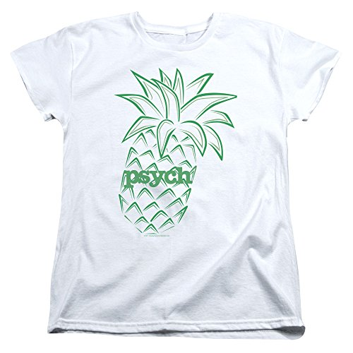 Womens: Psych - Pineapple Ladies T-Shirt Size M