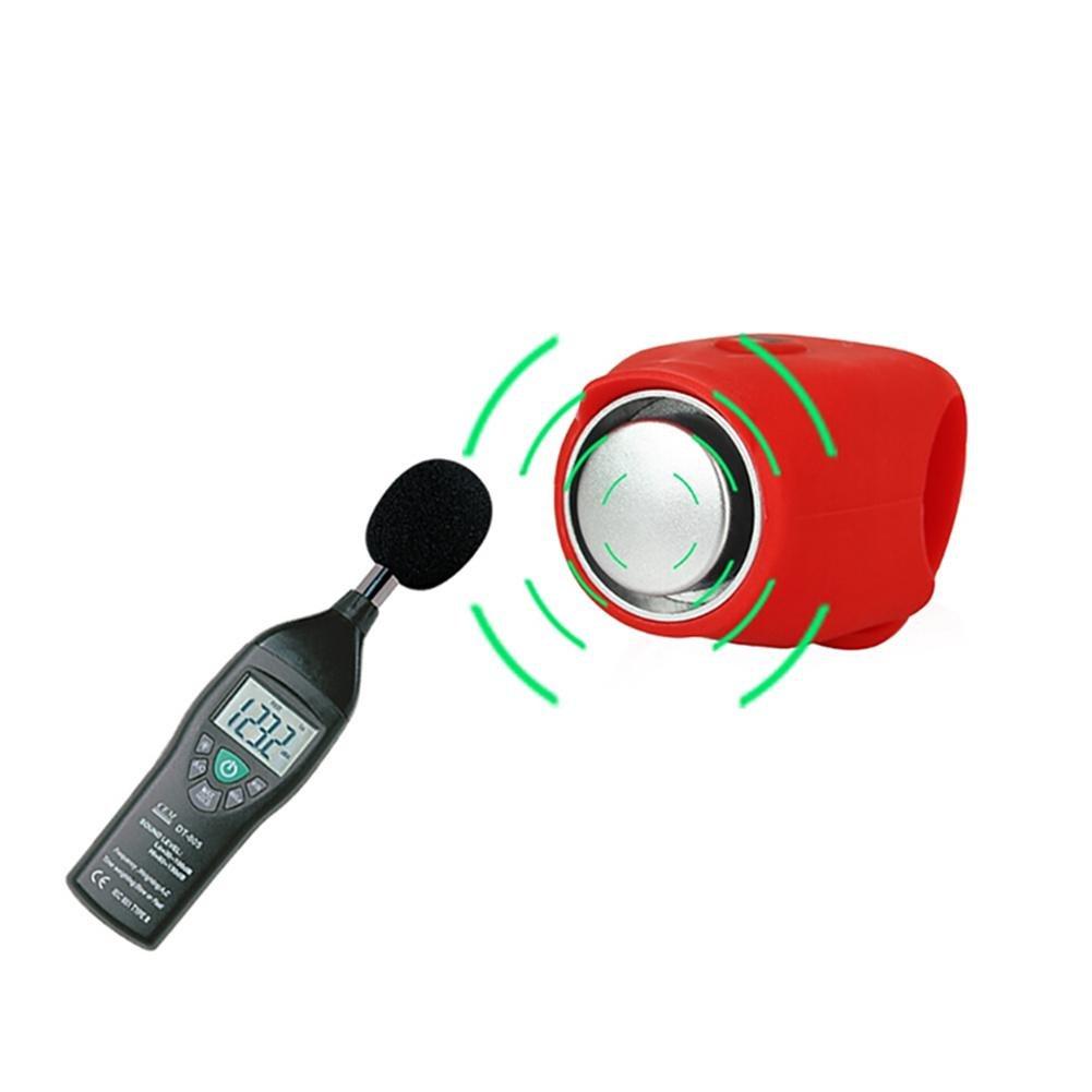 1PC Sonnette de V/élo /Éectrique 120DB Super Fort Bell Cloches de Bicyclette Cyclisme Cloche de Klaxon househome Cloche de V/élo,Sonnette /électrique ultra puissante en forme de cr/âne pour v/élo