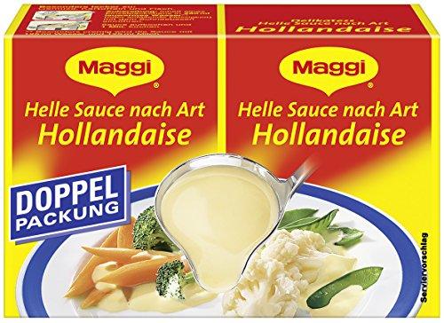 Maggi Delikatess-Sauce Helle Sauce nach Art Hollandaise, 9er Pack (9 x 80 g)