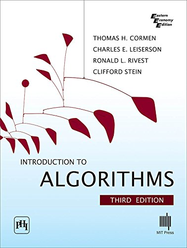 Introduction to Algorithms (Eastern Economy Edition) by Brand: PHI Learning