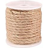 Advantez 32 piedi naturale Forte iuta della tela da Spago String corda torta canapa cavo di 10 millimetri di spessore (4MM)