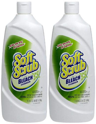 Soft Scrub Soft Scrub Cleanser with Bleach - 36 oz - 2 pk