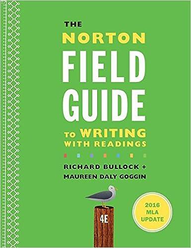 Norton Field Gde.To Writ.W/Rdgs. Mla...