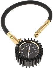 HOMYL Tire Tyre Air Pressure Gauge Meter Tester 0-100 PSI for Car Truck Motorcycle Van