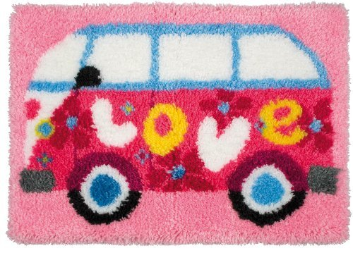 Anchor Love Camper Latch Hook Rug by ANCHOR